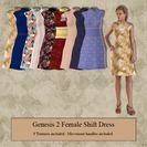 Genesis 2 Female Shift Dress