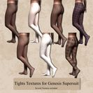 Tights Textures for Genesis Supersuit