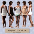 Babydoll Outfit for V4