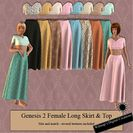 G2F Long Skirt & Top