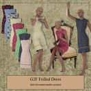 G2F Frilled Dress