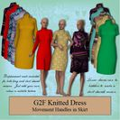 G2F Knitted Dress