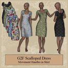 G2F Scalloped Dress