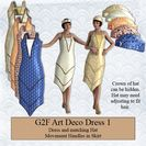 Art Deco Dress & Hat for G2F