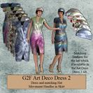 Art Deco Dress 2 for G2F