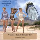 A Summer Top for Genesis 3 Female
