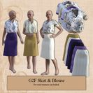 G2F Skirt & Blouse
