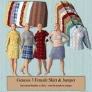G3F Skirt & Jumper