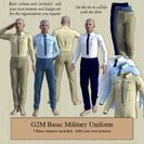 Basic Military Style Uniform for G2M UPDATED for 4.9