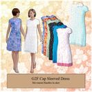 Cap Sleeved Dress for G2F