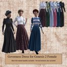 Governess Dress for G2F