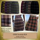 GENESIS 8 Male Scottish Kilt